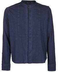 Roberto Collina Shirt - Bleu