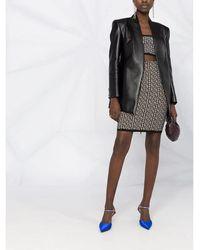 Balmain Skirt Negro