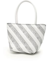 Alexander Wang Quilted Roxy Logo Tote - Grijs