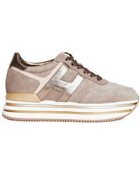 Hogan - Sneakers Midi Platform - Lyst
