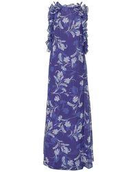 P.A.R.O.S.H. Long Dress - Paars