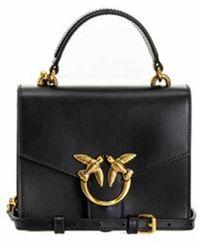 Pinko Mini Love TOP Handle Simply Bag - Noir