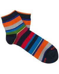 Gallo Striped Socks - Blauw