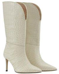 Custommade• Avalon Croco Boots - Naturel