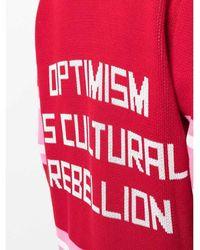 Golden Goose Deluxe Brand - Suéter Rojo - Lyst
