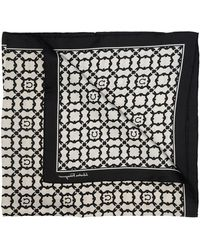 Ferragamo - Patterned shawl - Lyst