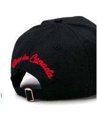 Department 5 Logotipo de gorra Negro