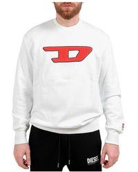 DIESEL Sweater Blanco