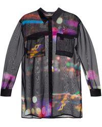 DIESEL Shirt Met Ventilatieopeningen - Zwart