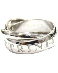 Cartier 18k Trinity Ring Metaal 18k - Grijs
