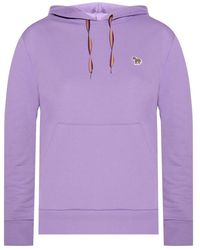 PS by Paul Smith Hoodie with logo - Lila