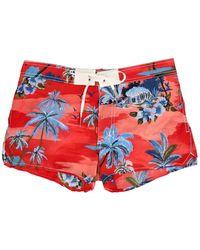 DSquared² Beachwear Swimming Trunks - Rood