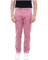 Michael Coal Chino Trousers - Roze