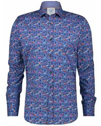 A fish named fred Shirt 22.01.011 - Blauw