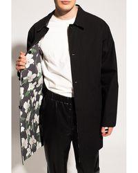 AllSaints Lower reversible coat - Noir