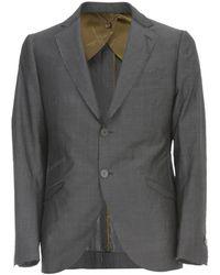 Dior Wool Jacket - Grijs