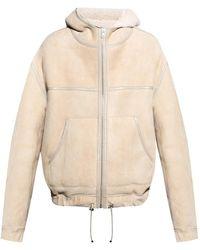 Isabel Marant Leather Jacket - Naturel
