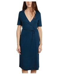 Majestic Filatures Cover-up Dress - Blauw
