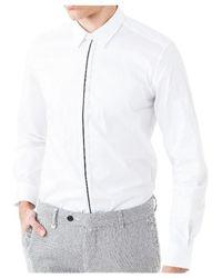 Antony Morato Shirt Mmsl00414 / Fa450001 - Wit