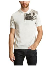 Fred Perry George Plemper Piqué Polo - Wit