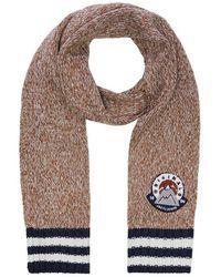 Jack & Jones Gebreide Logo Sjaal - Bruin