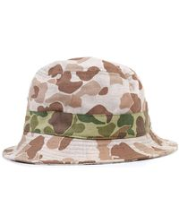 Universal Works Hat - Marrone