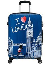 American Tourister Trolley Disney Legends - Blauw