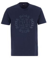 BOSS by Hugo Boss T-shirt - Blauw