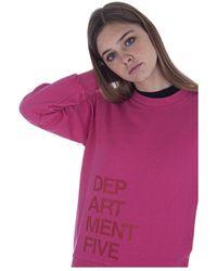 Department 5 Sweatshirt Df501 - Rose