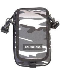 Balenciaga Explorer Tas - Grijs