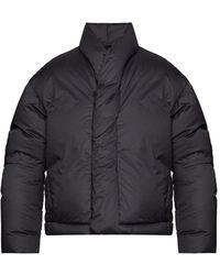 Ambush Down Jacket With Logo - Zwart