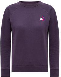 Étoile Isabel Marant Sweatshirt with logo - Viola