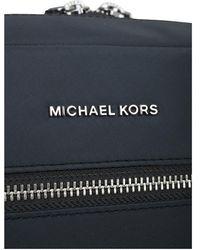 Michael Kors Solid Gabardine Nylon Lg Camera Bag - Blauw