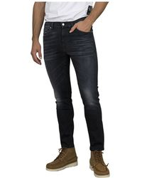 Mauro Grifoni Jeans matty slim - Negro
