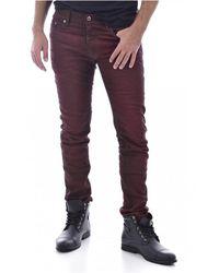 DIESEL Jeans Slim Stretch - Bruin