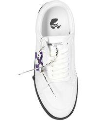 Off-White c/o Virgil Abloh Sneakers Met Logo - Wit