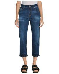 Department 5 Adid Pantalone - Blauw
