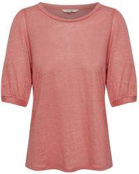 Part Two Evin T-shirt - Roze