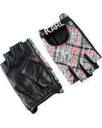 Karl Lagerfeld Gloves - Zwart