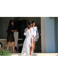 Michelle Jonas Cotton Gauze Cardigan Cover Up - White