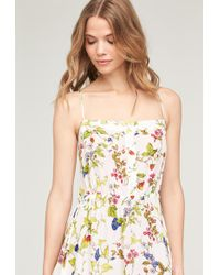 MILLY - Cathy Dress In White - Lyst