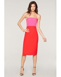 MILLY - Italian Cady Pencil Dress - Lyst