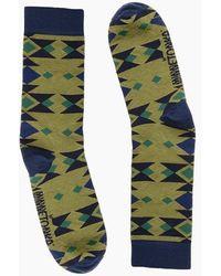 Minnetonka Saguaro Sock - Green