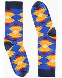 Minnetonka Albuquerque Sunrise Sock - Blue