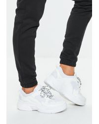 Missguided - White Chunky Sneakers - Lyst