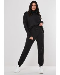 Missguided Plus Size Grey Co Ord Knitted Leggings - Gray