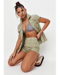 Missguided - Co Ord Utility Gilet - Lyst