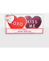 Missguided - Red Valentines Love Heart Bunting - Lyst