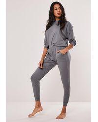 Missguided - Rib Loungewear Set - Lyst