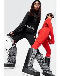 Missguided Msgd Ski Boots - Black